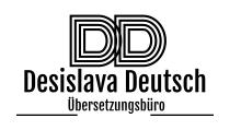 Übersetzungsbüro Desislava Deutsch